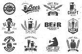 Vintage design for bar, pub and restaurant business