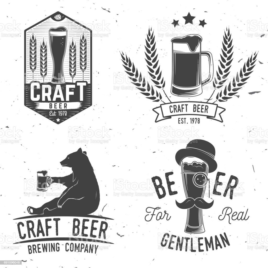 Vintage-Design für bar, Pub und Restaurant business – Vektorgrafik
