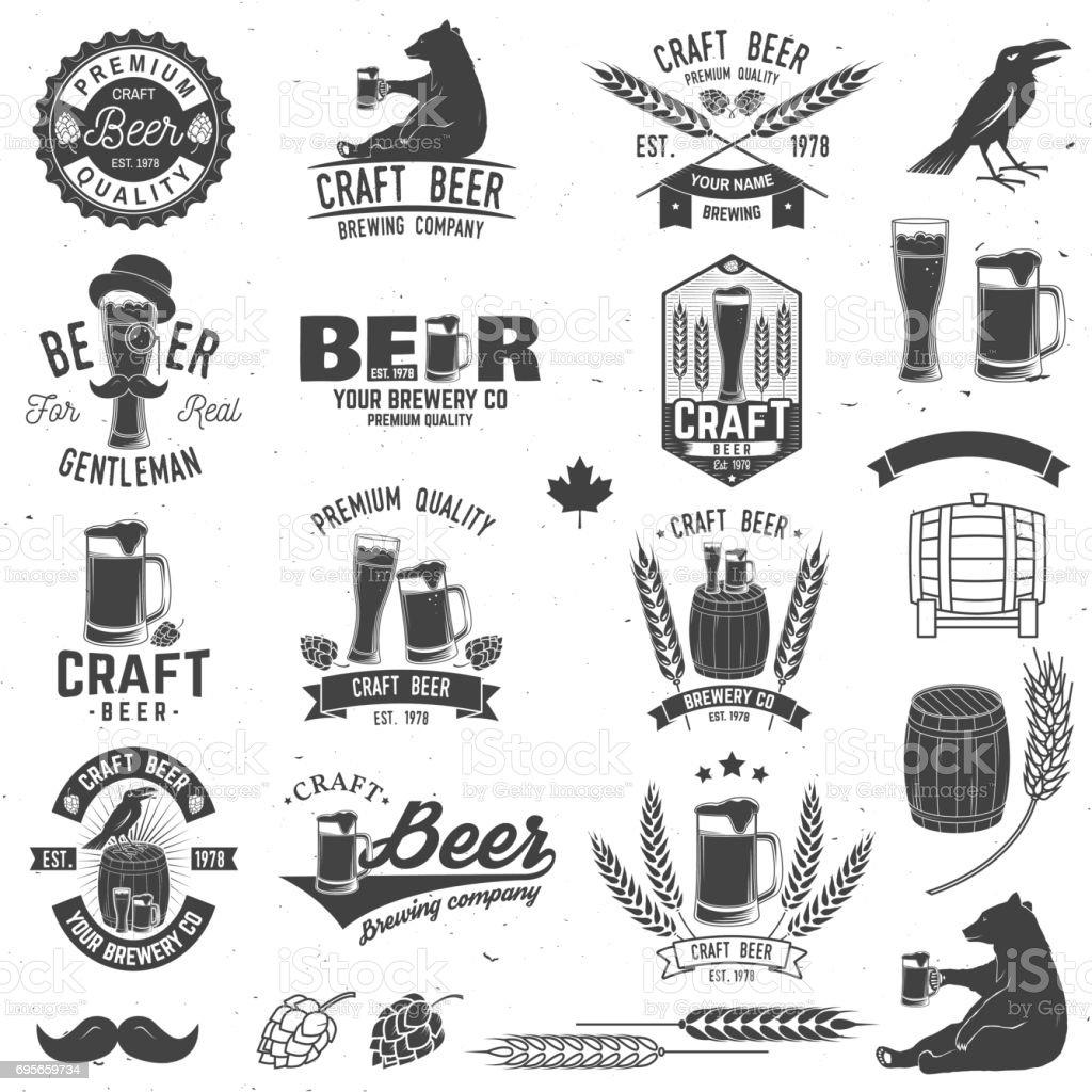 Projeto do vintage para bar, pub e restaurante negócios - ilustração de arte em vetor