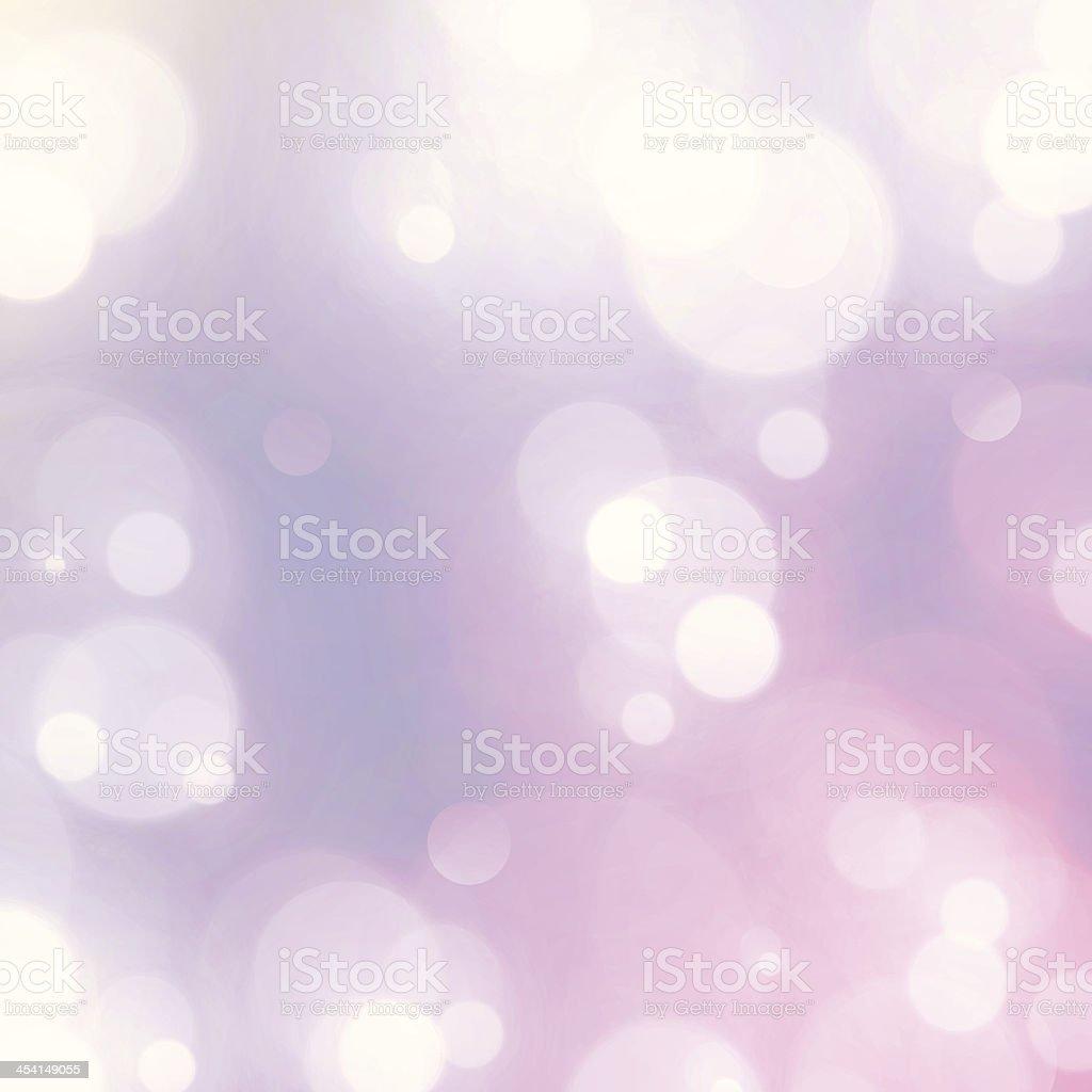 Vintage Dreamy Fairy Lights Retro Bokeh Blurry Vector Background royalty-free stock vector art
