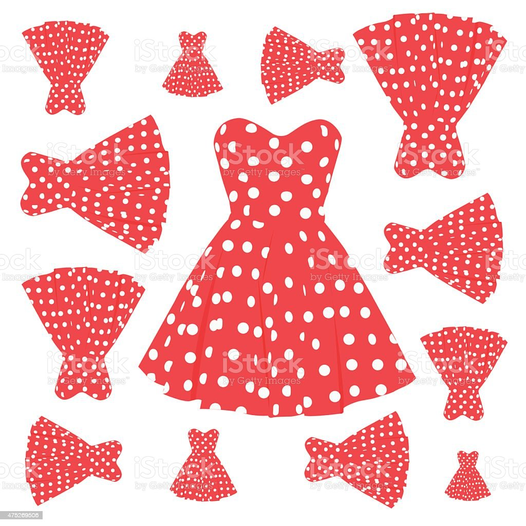Cheap dress patterns cliparts