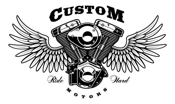 Best Motorcycle Rider Illustrations, Royalty-Free Vector