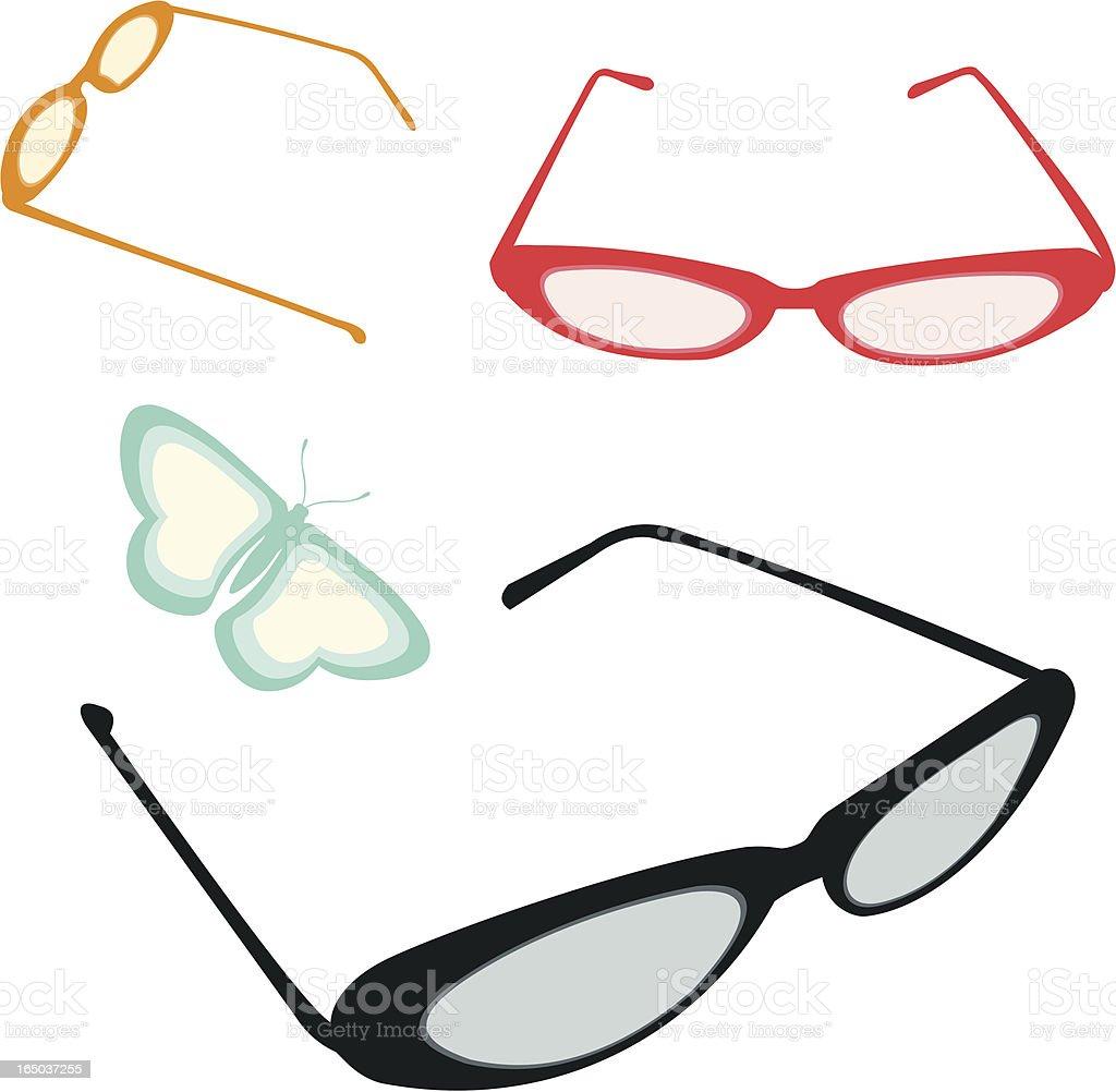 Vintage EyeGlasses royalty-free vintage eyeglasses stock vector art & more images of back lit