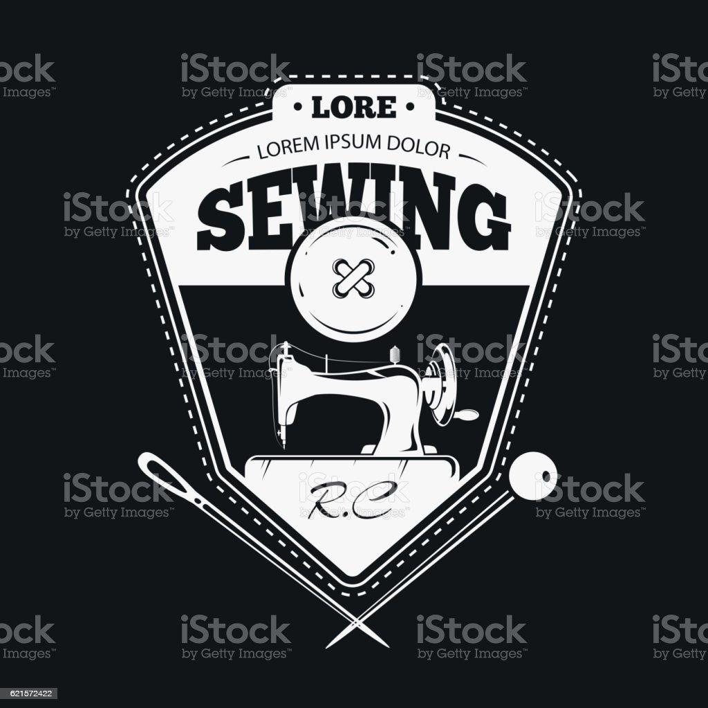 Vintage fashion clothing labels or handmade sewing logos vintage fashion clothing labels or handmade sewing logos – cliparts vectoriels et plus d'images de art et artisanat libre de droits