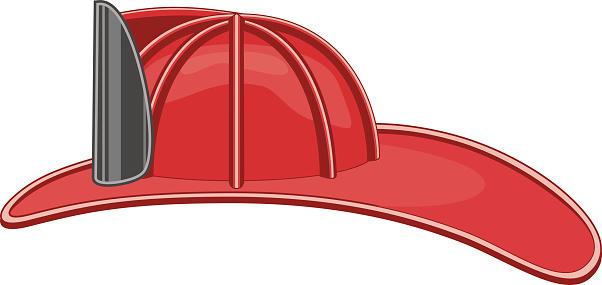 Vintage Firefighter's Helmet or Fireman's Hat