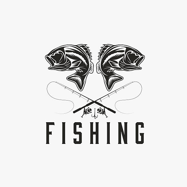 Best Largemouth Bass Illustrations, Royalty-Free Vector