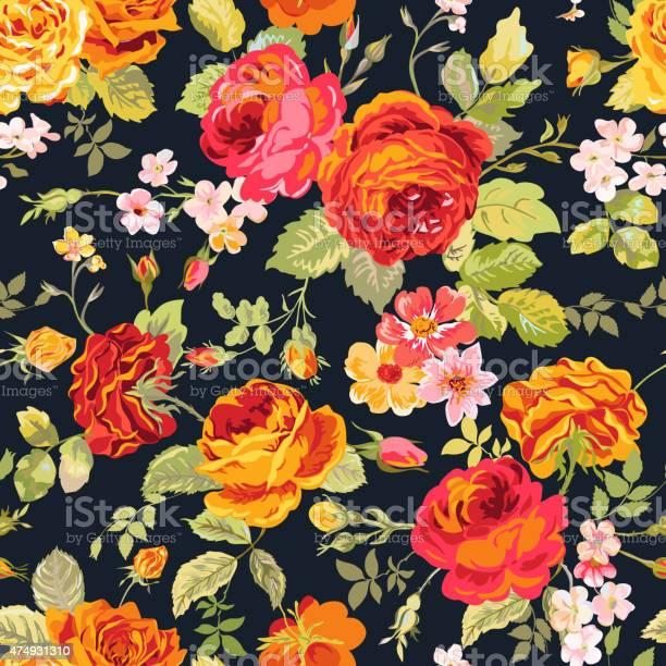 Vintage floral background seamless pattern for design print vector id474931310?b=1&k=6&m=474931310&s=612x612&h=usl2ly3sd2pz6uzerykfghxnm5 zjhy0vt5ytcmmtbw=