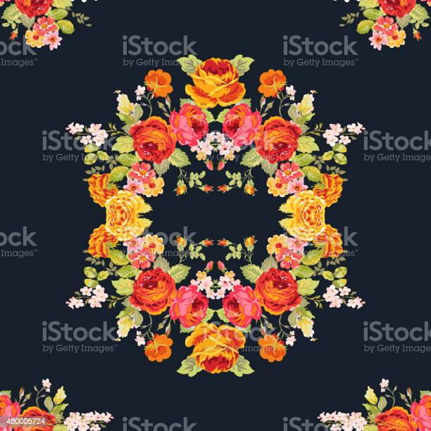 Vintage floral background seamless pattern for design print vector id480005724?b=1&k=6&m=480005724&s=612x612&h=fkvdjiuq04ulciwbll760wec1ddonohhlgyspxm1t0u=