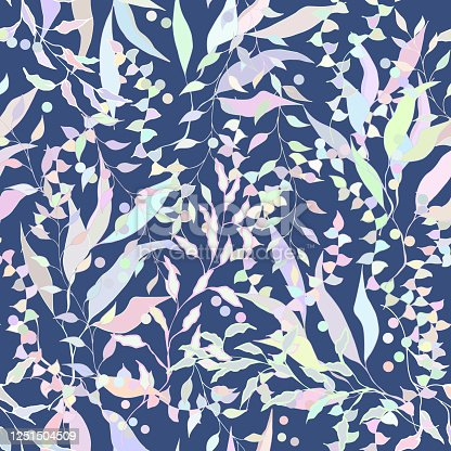 Vintage floral background with beige leaves. Burgundy texture for fabrics and tiles.