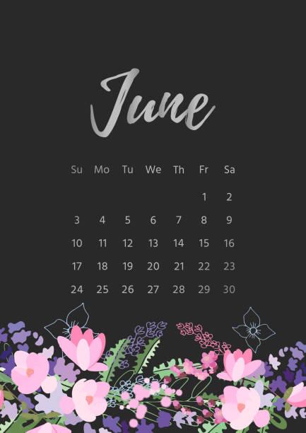 ilustraciones, imágenes clip art, dibujos animados e iconos de stock de vintage floral calendario 2018 - calendario de naturaleza
