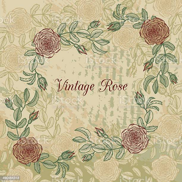 Vintage floral frame with roses vector id490454313?b=1&k=6&m=490454313&s=612x612&h=wn03v1j9auv3vq49mlp4rnntz6setjcekw4jduva8xc=