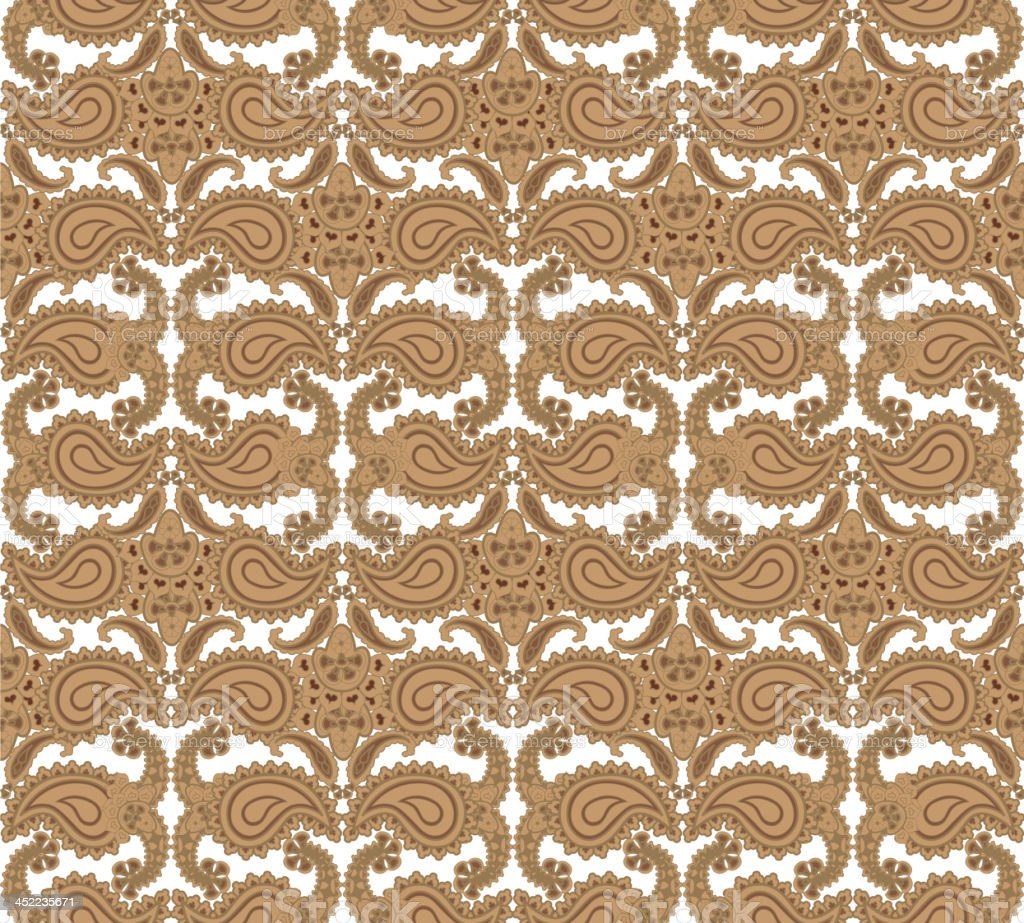 Vintage floral seamless background. royalty-free stock vector art