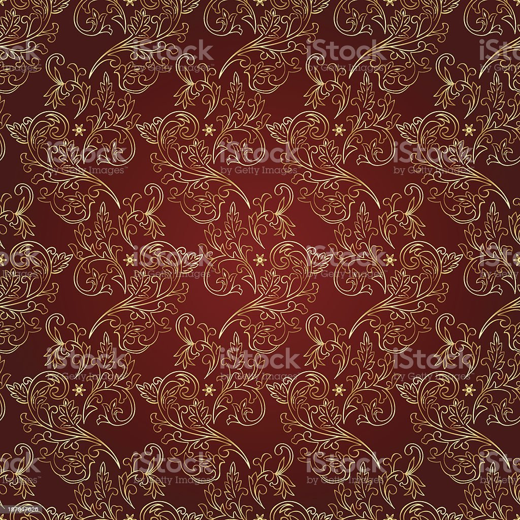 Vintage floral seamless pattern royalty-free vintage floral seamless pattern stock vector art & more images of abstract