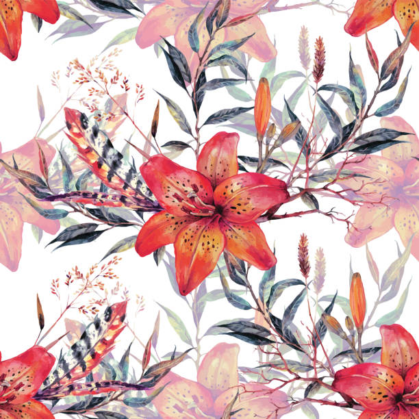 c42c118b1 Top 60 Tiger Lilly Clip Art, Vector Graphics and Illustrations - iStock
