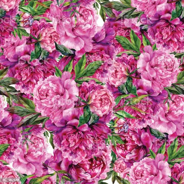 Vintage floral seamless watercolor pattern vector id607982648?b=1&k=6&m=607982648&s=612x612&h=u4de236hkpzjnb0h qn4zkahr5zekc 2rkizw2ponpa=