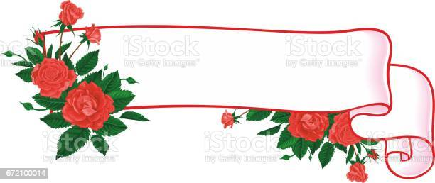 Vintage flower ribbon banner with rose retro style vector vector id672100014?b=1&k=6&m=672100014&s=612x612&h=2tjhoafuomvf6eapom4eixp49eqw1l  x 8ti5lloim=