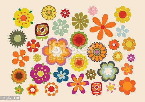 istock Vintage Flowers 2 821472110
