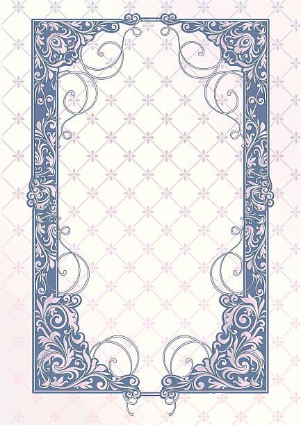 ビンテージフレーム - ロココ調点のイラスト素材/クリップアート素材/マンガ素材/アイコン素材