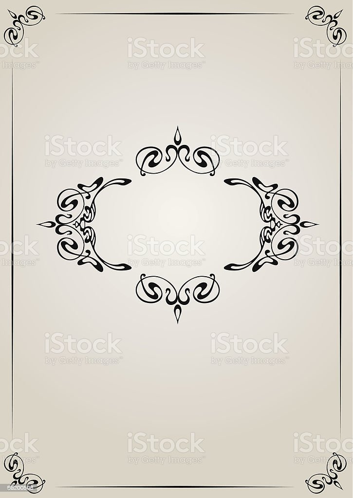 Vintage frame royalty-free vintage frame stock vector art & more images of artificial