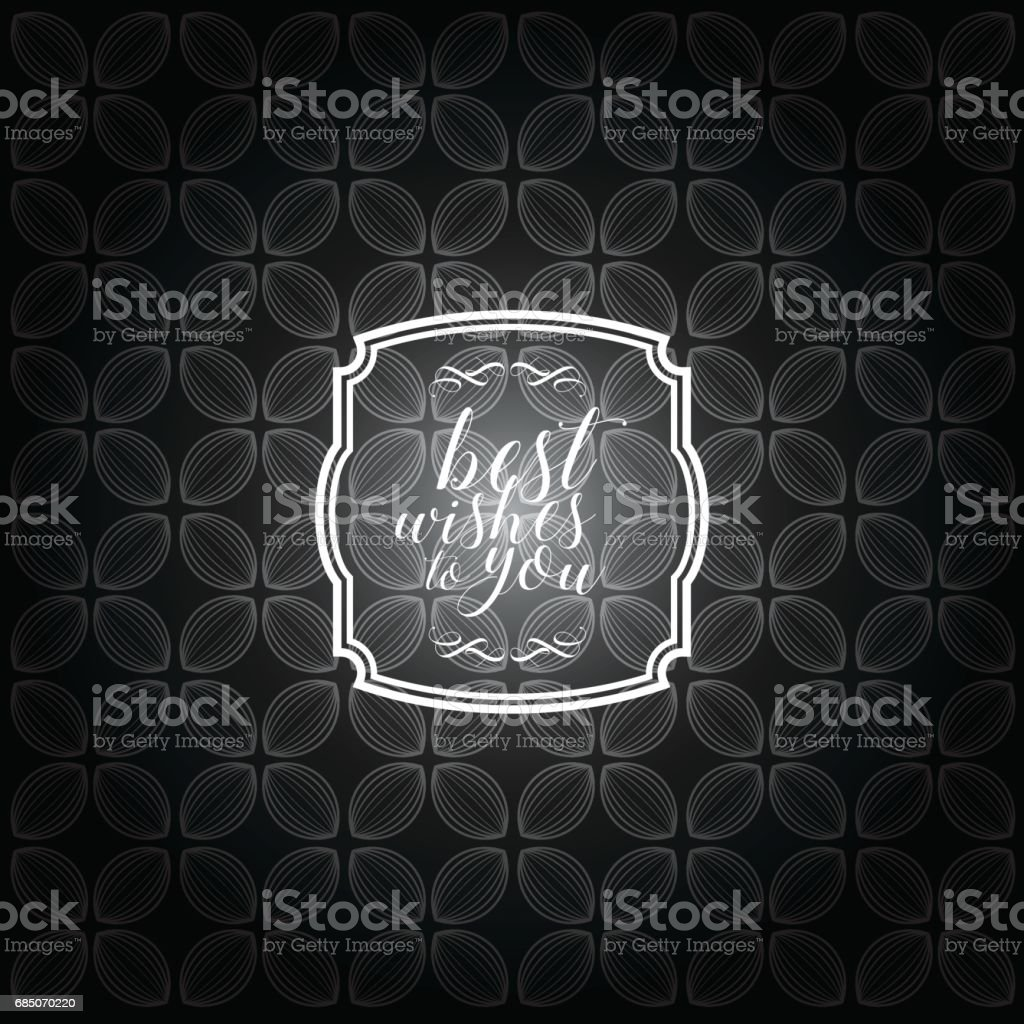 Vintage frame with black and white color pattern background royalty-free vintage frame with black and white color pattern background stock vector art & more images of antique