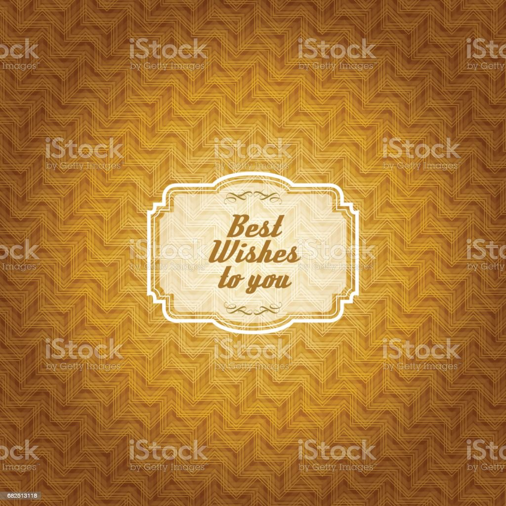 Vintage frame with gold colored pattern background royalty-free vintage frame with gold colored pattern background stock vector art & more images of antique