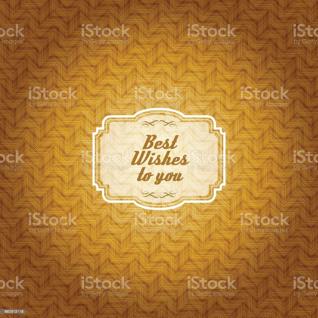 Vintage frame with gold colored pattern background vintage frame with gold colored pattern background - arte vetorial de stock e mais imagens de antigo royalty-free