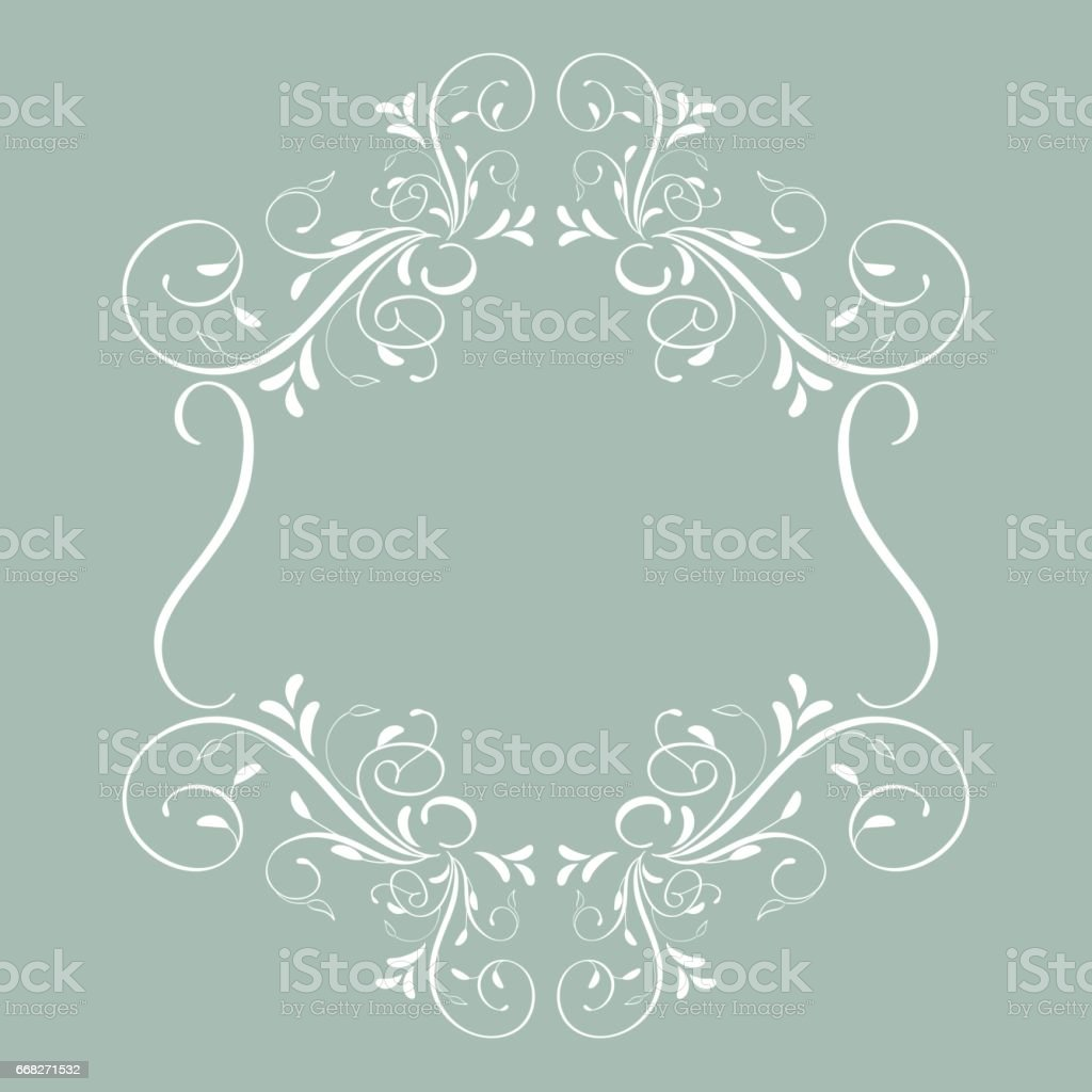 vintage frame with leaves isolated on background. Vector calligraphy illustration EPS10 vintage frame with leaves isolated on background vector calligraphy illustration eps10 - immagini vettoriali stock e altre immagini di ambiente royalty-free