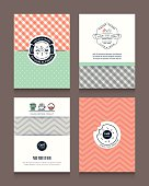 Vintage frames and backgrounds Design Template for Flyer Brochure Book Cover Business card Menu