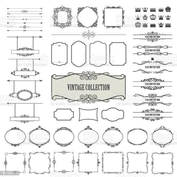 Vintage frames dividers signboards mega set vector id927005420?b=1&k=6&m=927005420&s=612x612&h=sm j6o9w9jwa joabwkswlsjyflzelnetibjimz3gsa=