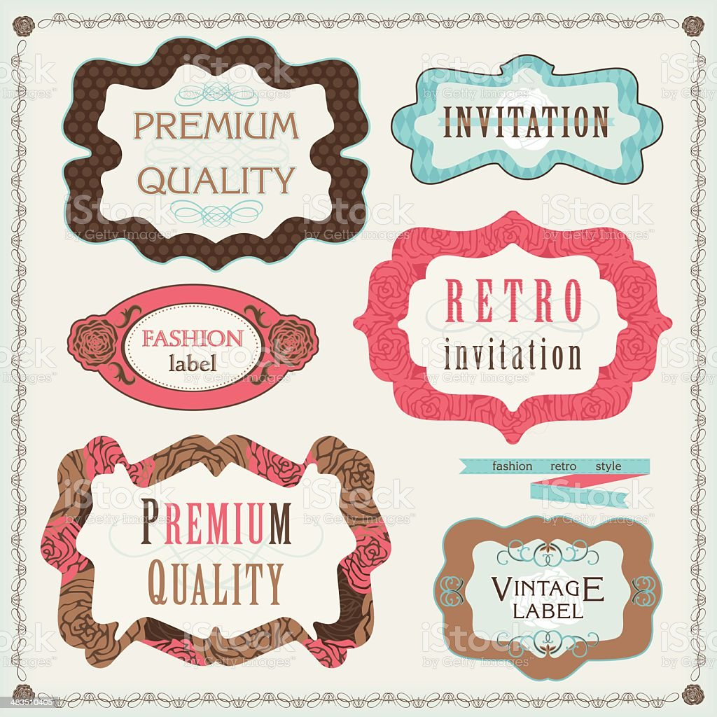 Vintage Frames royalty-free vintage frames stock vector art & more images of antique