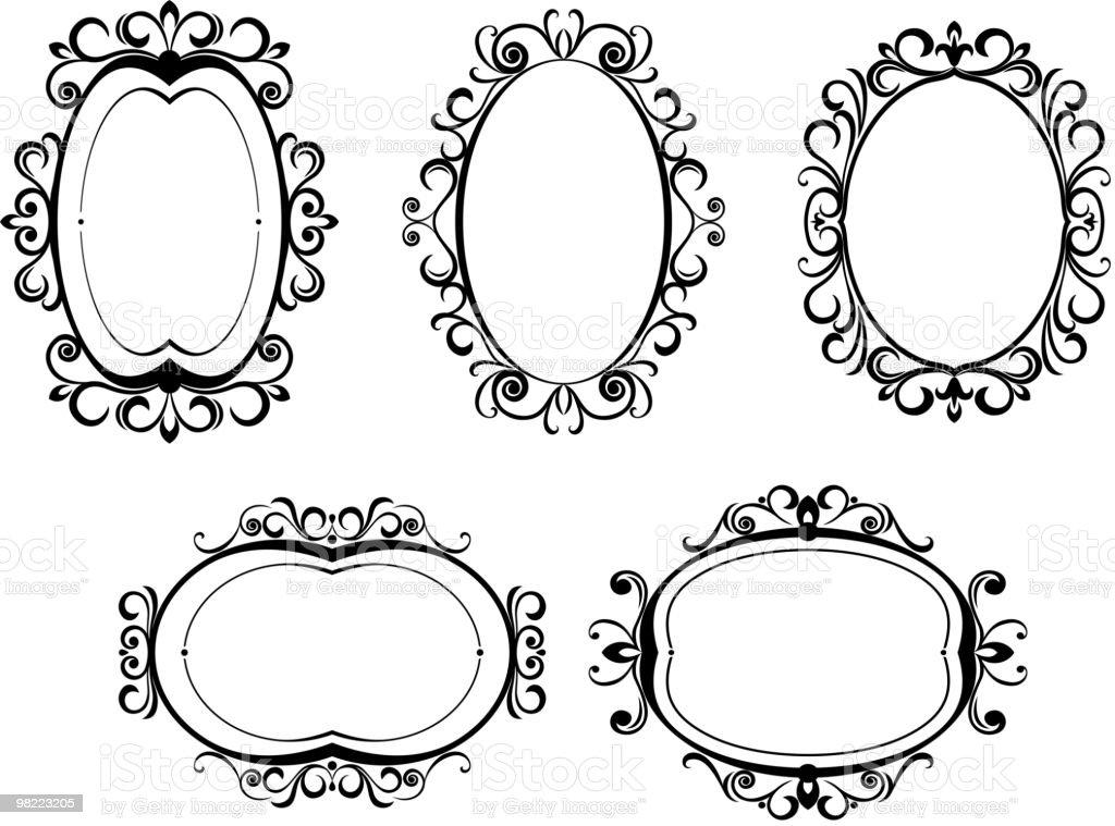 Vintage frames royalty-free vintage frames stock vector art & more images of color image