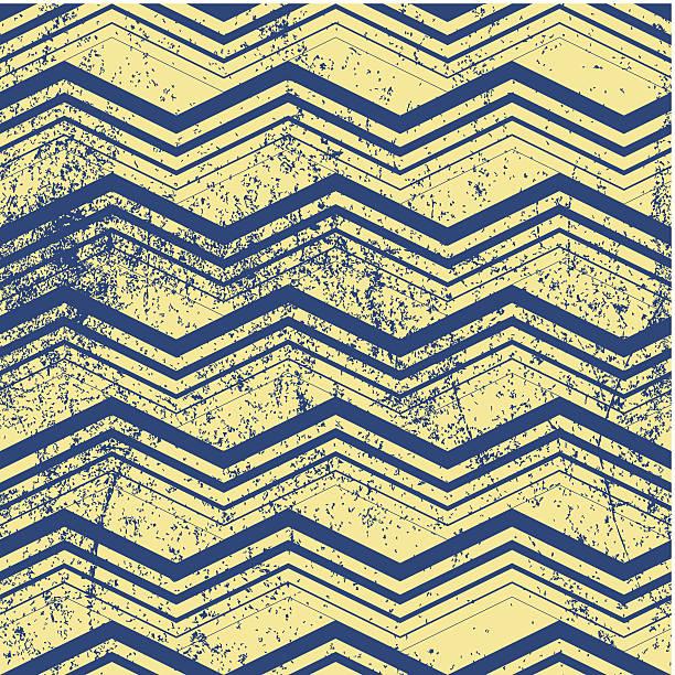 ilustrações, clipart, desenhos animados e ícones de vintage padrão geométrico com sujeira textura, vetor de estilo antigo - texturas desgastadas