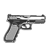 Glock Drawing at GetDrawings com   Free for personal use