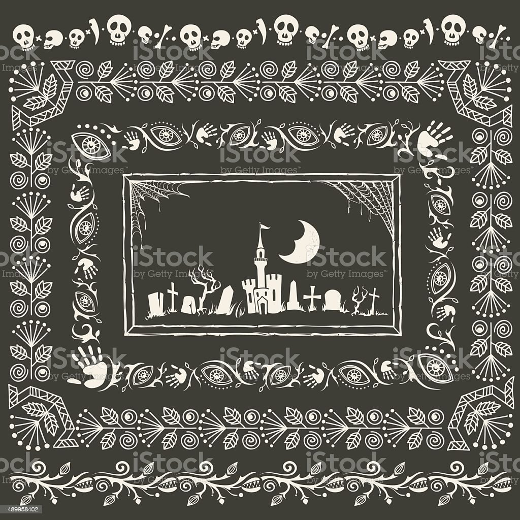 Vintage halloween frames and borders stock vector art more vintage halloween frames and borders royalty free vintage halloween frames and borders stock vector art jeuxipadfo Choice Image