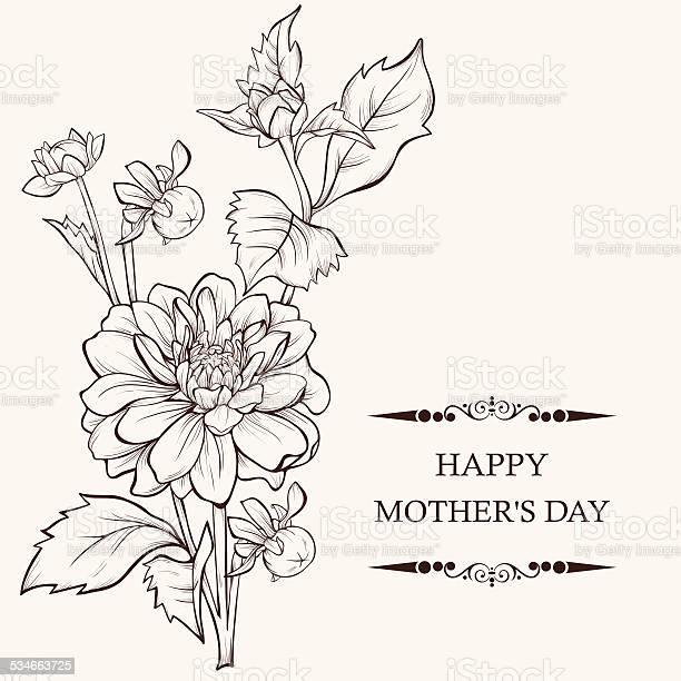 Vintage hand drawing background with dahlia flowers vector id534663725?b=1&k=6&m=534663725&s=612x612&h=6srpketffbnk08uptrftqmj1qozwtmgjwxkf e6buzm=