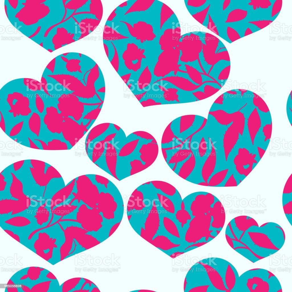 Vintage hand drawn beautiful flowers classic design with retro style background seamless pattern vector vintage hand drawn beautiful flowers classic design with retro style background seamless pattern vector - stockowe grafiki wektorowe i więcej obrazów botanika royalty-free