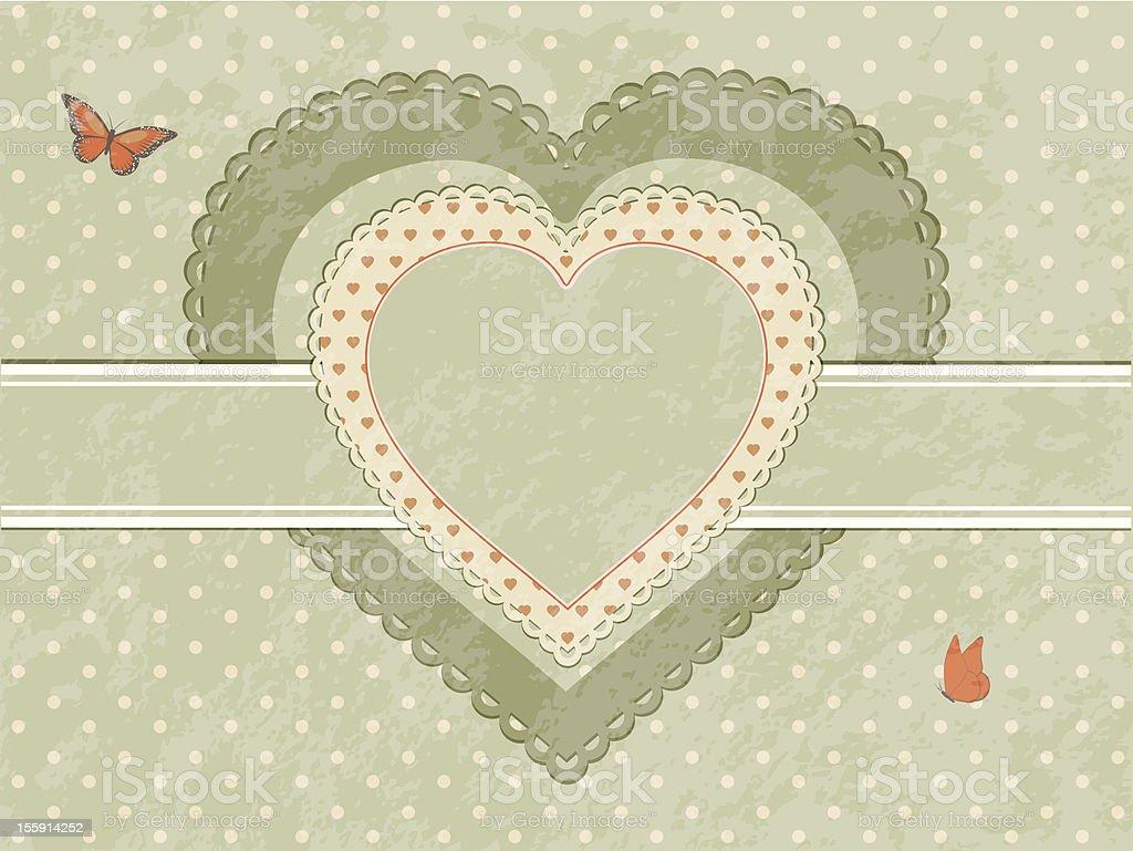 Etiqueta Vintage Corazón - Arte vectorial de stock y más imágenes de ...