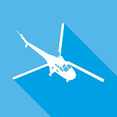 istock Vintage Helicopter Icon 1238753514