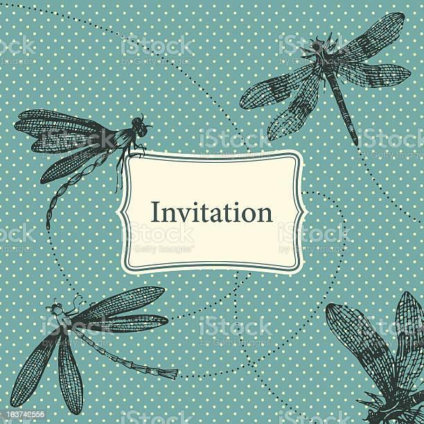 Vintage invitation card with dragonflies vector id163742555?b=1&k=6&m=163742555&s=612x612&h=rzirh1ss9ixpxg6ules7hplujwrmhztttsaacwrjhbi=