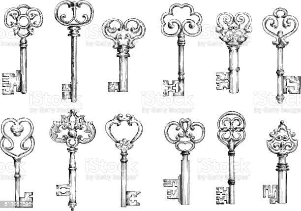Free vintage keys Images, Pictures, and Royalty-Free Stock