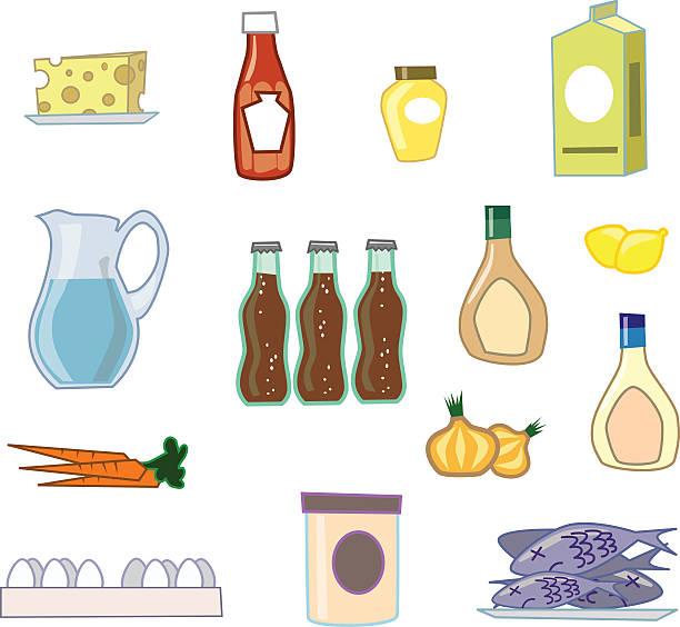 vintage küche essen - dressing stock-grafiken, -clipart, -cartoons und -symbole