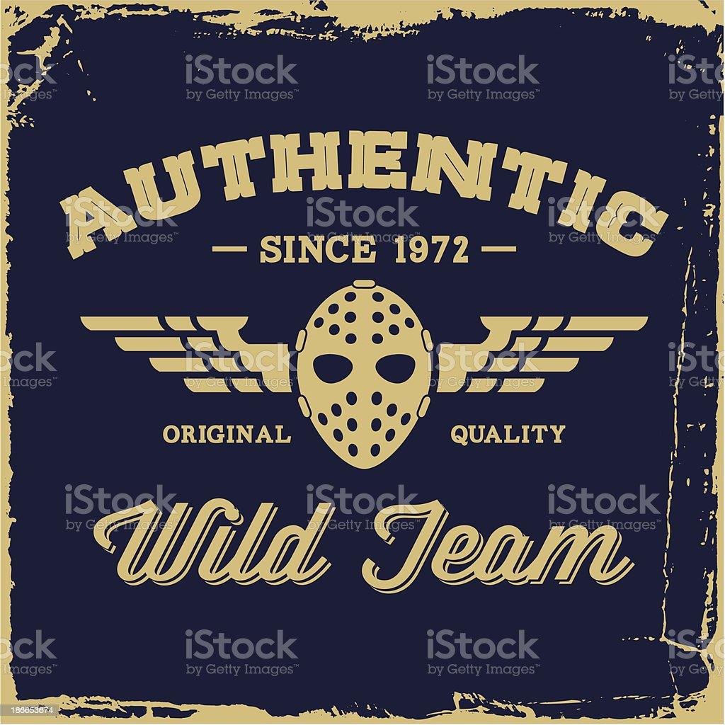 vintage label royalty-free stock vector art