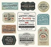 Vintage Labels and Signs