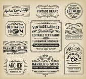 istock Vintage Labels and Signs 531178156