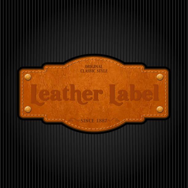 ilustraciones, imágenes clip art, dibujos animados e iconos de stock de vintage etiqueta - textura de pieles