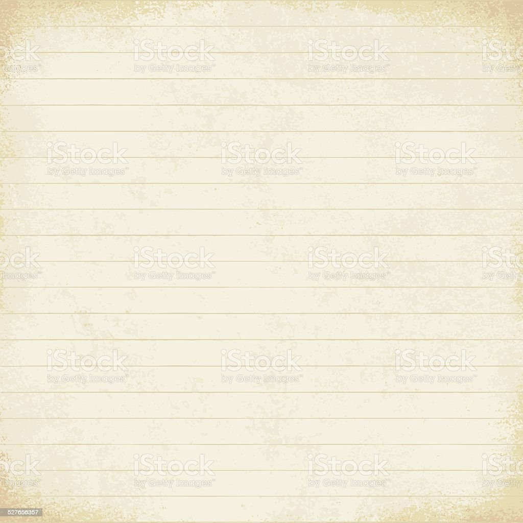 vintage lined paper vector background 2 stock vector art