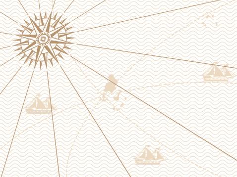 Vintage map background