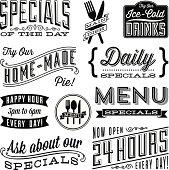 istock Vintage Menu Designs 175730646