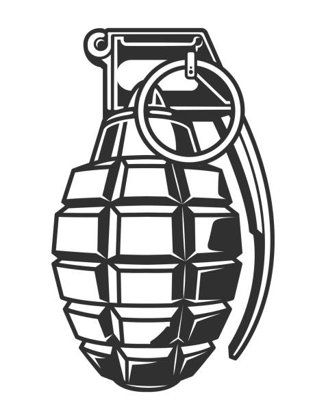 Best Hand Grenade Illustrations, Royalty-Free Vector ...