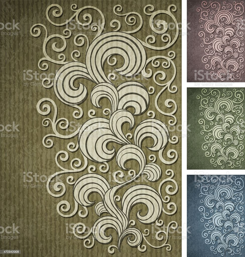 Vintage multi-coloured background royalty-free stock vector art